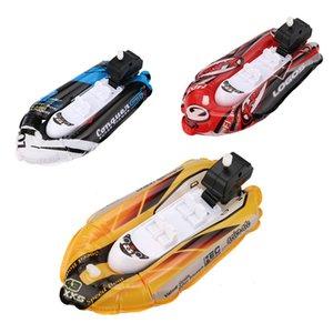 Mini Şişme Yat Tekne Çocuk Banyo Oyuncakları Havuzu Oyuncak Motorbotlar Inflators juguetes Brinquedos E0108