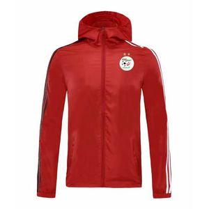 2020 sweat à capuche veste coupe-vent survêtement maillots Algérie de football hoodies actifs coupe-vent sport de football hiver Vestes d'homme