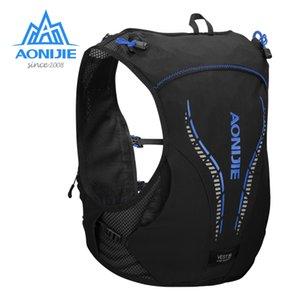 Pelle AONIJIE C950 5L avanzata zaino Hydration Pack Bag Zaino cablaggio della maglia vescica dell'acqua escursionismo Jogging Marathon Race