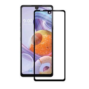 Volle Deckung blasenfrei Anti Scratch Ausgeglichenes Glas Handy-Film Ausgeglichenes Glas-Schutzfolie für LG Stylo 5 6 K40 K51 Aristo5 +