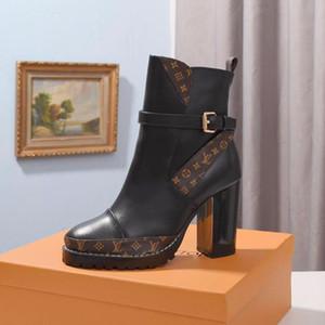 Lunkal моды сапоги зима Женщины Bottes Femmes Star Trail голеностопного загрузки Женская обувь Мода Chaussures De Femme Luxury с Origin Box Fast S