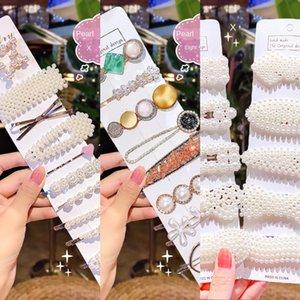 Dieci pezzi accessori di accessori per capelli Pearl clip laterale scoppi coreano insieme nuovo valore della forcella della perla di dieci pezzi Internet Celebrity ragazza clip di C