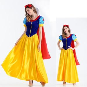 vLD16 o5p4Y Leistung Halloween-Kostümball Bar-Service Princess Service Bar Princess Kleidung Cosplay Erwachsenen Kostüm White Queen