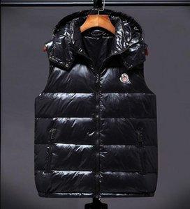 venta caliente bajo precio abajo conceden la chaqueta con capucha de las mujeres de moda chaleco de gama alta de la insignia del bordado de lujo chalecos caliente y peso ligero abajo conceden