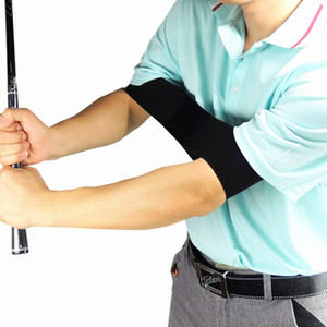 Wholesale Golf Swing Trainer eginner Practicing Guide Gesture Alignment Training Aid Aids Correct Swing Trainer Elastic Arm Band Belt
