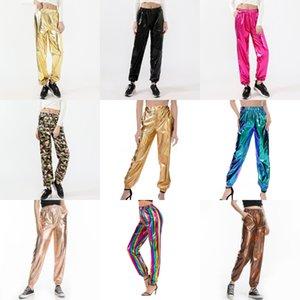 Flare Pantolon Uzun Spor Bloomers Kadınlar Yoga Fitness Capris Geniş Bacak Pantolon Günlük Moda Harem Pantolon Dans İnce Palazzo Gevşek Pantolon B3 # 309