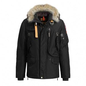 Parajumpers은 다운 파카 새로운 두꺼운 따뜻한 방수 긴 섹션 슬림 솔리드 컬러 거위 방풍 재킷 오른쪽 겨울 다운 여자
