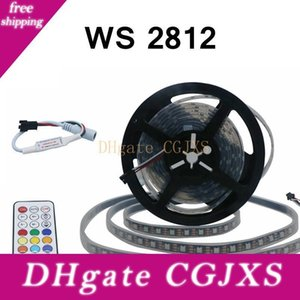 Edison2011 5m 5V의 Ws2812 RGB LED가 스트립 빛 SMD5050 방수 디지털 빛 21key Cntroller 스트립 60leds