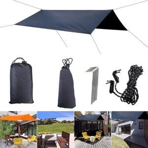 Awning Sun Shelter Beach Outdoor Camping Garden Sun Awning Canopy Sunshade Hammock Rain Tarp Waterproof Tent Shade
