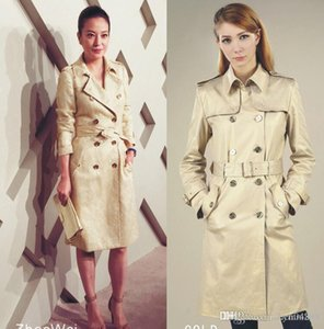 Temperament Womens Trench Coat High-end OL Windbreaker Coat 2020 Spring New Lady Elegant Coat