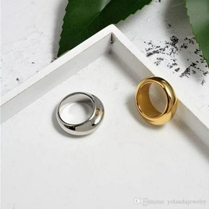 Hotsale Women Rings Yellow White Gold Plated Ring for Girls Women for Party Wedding Nice Gift for Friends