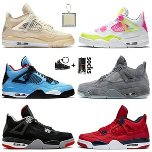 nike air jordan 4 off white retro 4 Jumpman 4 Sail 4 4s Mens Basketballschuhe Art und Weise Lemon Venom Frauen Turnschuhe Bred FIBA ​​schwarze Katzen-2020 Herren-Trainer