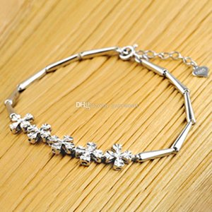 925 sterling silver Natural Sapphire Fashion Features Self-Bracelet styles Custom style bracelet with box YSL002T43.