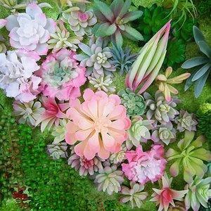 الزهور الزخرفية أكاليل الزهراء الاصطناعي يتدفقون النباتات النضرة بو ريال لمس اليد يشعر بوعاء اكسسوارات الديكور المنزل