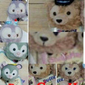 Dafei nuevo amigo de peluche de conejo colgante de Tony gato Dafei oso de peluche llavero Shirley pendiente dominante de estiramiento