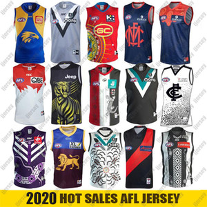 2021 AFL West Coast Eagles Geelong Cats Rugby Jerseys Essendon Bombers Melbourne Blues Adelaide Grows ST Kilda Saints GWS Giants Guernsey