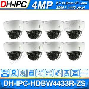 DH 4mp IP Camera IPC-HDBW4433R-ZS 8Pcs lot Replace IPC-HDBW4431R-ZS IP CCTV Cam 50M IR Range Vari-Focus Network Camera