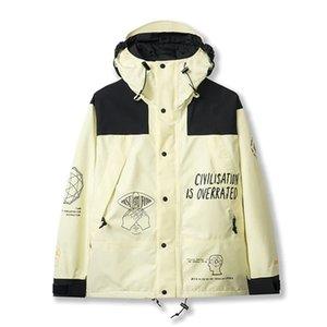 20FW Outdoor Mountain Nuptse Hooded Jacket Men Women Fashion High Street Coats Spring Autumn Windproof Outwear Jacket HFYMJK352