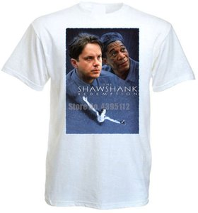 The Shawshank Redemption V6 T Shirt White Movie Poster All Sizes S-5Xl