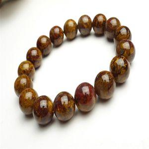 Drop Shipping Genuine Natural Pietersite Gems Stone Stretch Crystal Round Bead Bracelets Women Men 12mm