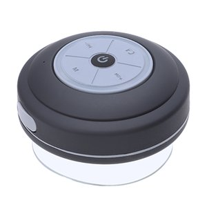 Mini Waterproof otário Bluetooth Speaker com LED Lanterna Car Handsfree Cartão FM Subwoofer Banho Mini Speaker