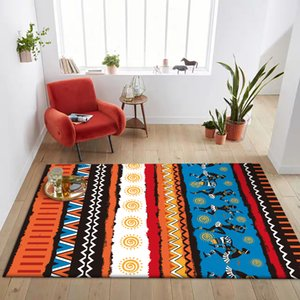 Bohemia Color tribe National style carpet Living room floor mat bedroom kitchen bedside rug custom made door mat