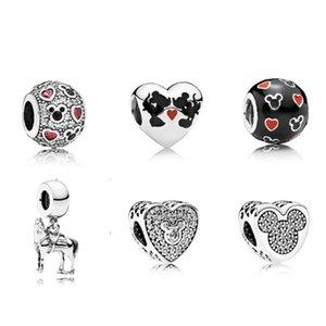 925 di 100% delle donne 791477ENMX Sterling Silver Charm Piercing cuore di cristallo vuota europeo adatto 792049CZ 792050CZ 791457CZ 791818MOP 791457CZ