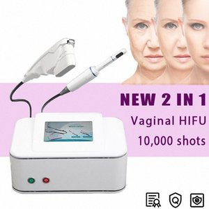 2in1 vaginale de serrage Hifu lifting visage machine rides enlèvement Anti vieillissement Hifu machine Homme Femme Utiliser Modern Salon Furniture Salon C # 4C30