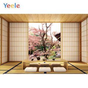 Yeele Wood Door Building Table Japan Interior Living Room Scene Photography Backgrounds Photographic Backdrops For Photo Studio