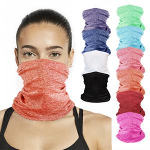 DHL UV-Schutz-Gesichtsmaske für Unisex Multifunktionsstirnband Hals Gamasche magischen Schal Radfahren Staub Wind Bandana Balaclava FWE743