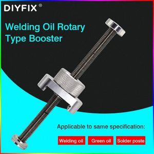 Алюминиевый сплав Rotary для паяльной пасты Flux УФ клей Green Oil Propulsion мобильного телефона BGA PCB Solder Mask Repair Tool vnFg #