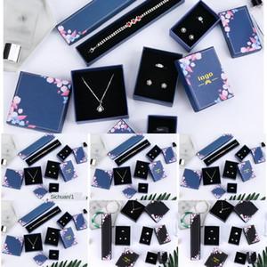Creative Sky Starry flannel boîte de bague boîte bracelet bague collier de bijoux BXL9w