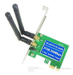 PCIE PCI PCIe red inalámbrica de escritorio tarjeta de PC incorporado en la tarjeta wifi conexión de tecnología inalámbrica MIMO interfaz de PCIE