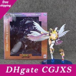 22 Anime Digimon Adventure Angewomon Pvc Figurine Modèle de collection jouet pour enfants Cadeau de Noël Livraison gratuite détail