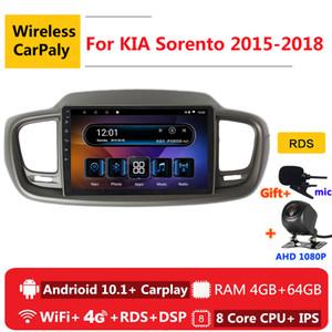 2 din 8 core android 10 car radio auto stereo for Kia Sorento 3 2020 2020 navigation GPS DVD Multimedia Player car dvd