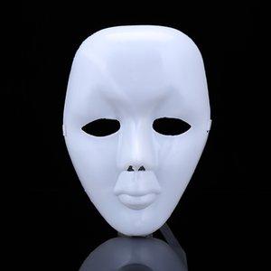 Masken Hanzi_masks Halloween Scary Partei DIY weiße volles Gesicht Cosplay Maskerade-Mime-Maske-Kugel-Partei-Kostüm-Masken