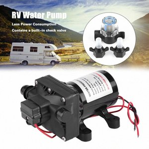 Bomba de agua para RV 55 PSI 3 galones Minuto 7.5 Amps 12V DC RV Caravana Agua Auto Priming Pump 4008 101 E65 Piezas locales ATV Local ATV SH THYT #
