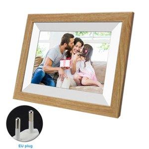 10.1inch المنبه 16GB التخزين WIFI HD 1080P العرض هدية الموسيقى إطار الصورة الرقمية شاشة تعمل باللمس الأسرة مشاركة الفيديو صورة