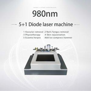 En iyi fiyat Diode Laser Vasküler Terapi Makine 980 Vasküler Yüz Damarlar Kaldırma Çiviler Mantar Tedavisi Ekipmanları