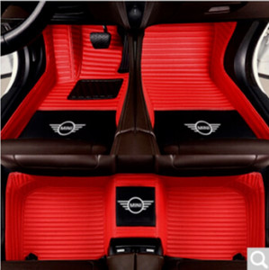 Suitable for Mini Cooper Cooper Clubman Cooper Countryman Paceman 2002-2021 all-weather waterproof and non-slip Car Floor Mats