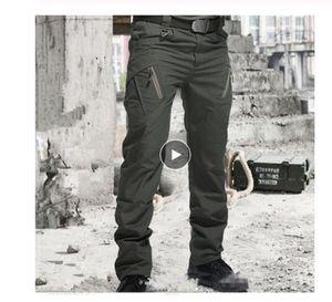 City Tactical Pants Men SWAT Combat Army Trousers Men Many Pockets Waterproof Wear Resistant Casual Cargo Pants 2020