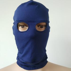 Hot Sale Costume Accessories Lycra spandex Zentai Costumes Party Halloween Cosplay Mask Hood open eyes