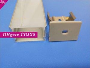Freies Verschiffen-guter Preis dickwandigen Aluminiumlegierung Profile 6063 Led Aluminium-Profil für LED-Streifen-Lichter