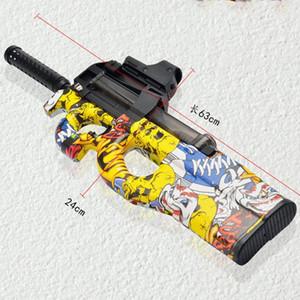 Juego Graffiti Polymer Hydrogel Agua Gel Eléctrico Y200728 Toy Sniper Ball Boy Boy Shoot Outdoor Toys Regalos Niños CS Agua Para P90 Gun Yxlcr