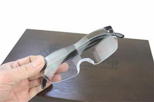 1,6 volte Big Vision Magnifier occhiali da lettura Uomo Donna Vintage Eyewear Magnifier +250 Ingrandisce Vision Lens eoYQ #