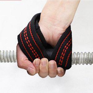 1Pair 8 Lift Gym Подъемных ремней Грузоподъемного Wrist Вес пояс бодибилдинг перчатка Спорт Protecive Аксессуары Ремни s4sJ #