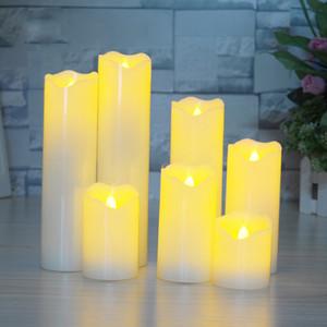 Elektronische Kerzen Helle Flickering Birne Batteriebetriebene Flameless LED Teelicht für saisonale Festival Feiern, Elektro-Fälschungs-Kerze