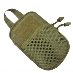 Outdoor CS equipment accessory ac accessories mobile phone accessories EDC camouflage small waist molle tactical hanging bag mobile phone ac