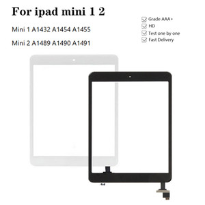 Touch Screen For ipad mini 1 2 Touch Glass Screen Digitizer A1432 A1454 A1455 A1489 With IC