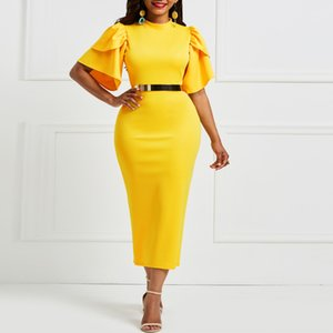 2019 растянуть трикотажные Натяжные трикотажные рукава бедра покрывающих юбки модно талии обрезки хип-лифтинг Feifei рукав хип-охватывающих юбку wHaLH